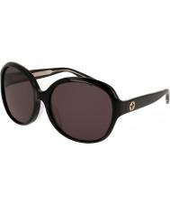 Gucci Ladies gg0080sk sorte solbriller