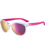 Cebe Cbsunri1 solopgang gennemsigtige lyserøde solbriller