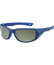 Cebe Jorasses medium mat mørkeblå variochrom peak flash spejl solbriller