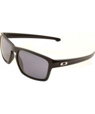 Oakley Oo9262-01 sliver mat sort - grå solbriller