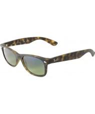 RayBan Rb2132 55 nye wayfarer mat skildpaddeskal 894-76 polariserede solbriller