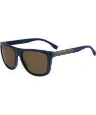 HUGO BOSS Mens boss 0834-s hwq sp blå polariserede solbriller