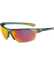 Cebe Cinetik store mat gennemskinnelige blå solbriller