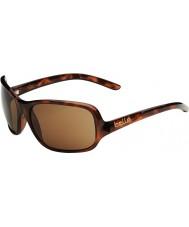 Bolle Kassia skinnende skildpaddeskal polariseret a-14 solbriller