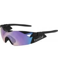 Bolle 6th sense s mat sort blå-violette solbriller