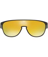 Oakley Oo9318-06 trillbe mat sort - 24k iridium solbriller