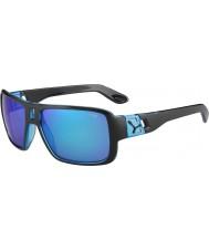 Cebe Lam mat sort 1500 grå flash spejl blå solbriller