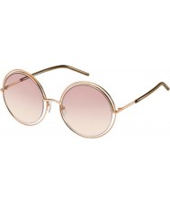 Marc Jacobs Ladies MARC 11-s TXA 05 guld brune solbriller
