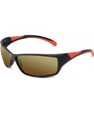 Bolle Speed skinnende sort rød bolle 100 pistol solbriller