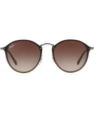 RayBan Blaze runde rb3574n 59 004 13 solbriller