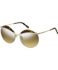 Marc Jacobs Ladies MARC 102-s J5G gg guld sølv spejl solbriller