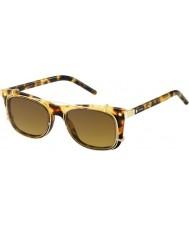 Marc Jacobs Marc 17-s u63 vo havana guld solbriller