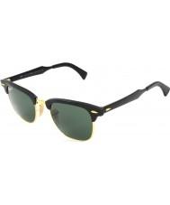 RayBan Rb3507 49 Clubmaster aluminium sort Arista 136-N5 polariserede solbriller