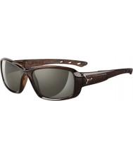 Cebe S-kiss skinnende brune savanne solbriller