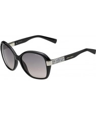 Jimmy Choo Ladies Alana-s D28 eu skinnende sorte solbriller