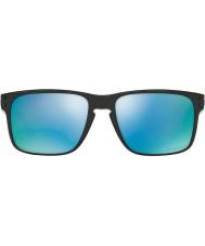 Oakley Oo9102-c1 Holbrook poleret sort - prizm dyb h2o polariserede solbriller