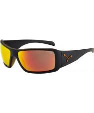 Cebe Utopy mat sort appelsin solbriller
