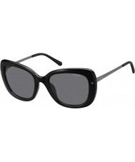 Polaroid Dame pld4044-s cvs y2 sort ruthenium polariserede solbriller