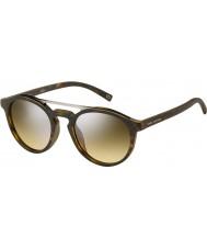 Marc Jacobs Marc 107-s n9p gg mat havana sølv spejl solbriller