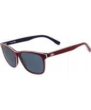 Lacoste L833s røde solbriller