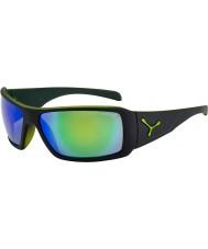Cebe Utopy mat sort grønne solbriller
