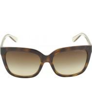 Michael Kors Mk6016 54 glam skildpaddeskal smokey gennemsigtige 305413 solbriller