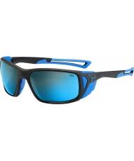 Cebe Proguide mat sort blå 4000 grå mineral blå solbriller
