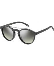 Marc Jacobs Marc 107-s DRD Gy mørkegrå sølv spejl solbriller