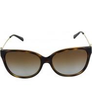 Michael Kors Mk6006 57 Marrakesh mørke skildpaddeskal 3006t5 polariseret solbriller
