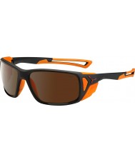 Cebe Proguide mat sort appelsin 2000 brun flash spejl solbriller