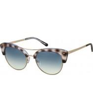 Polaroid Dame pld4045-s MSS Z7 sorte havana guld kobber polariserede solbriller