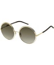 Marc Jacobs Ladies MARC 11-s APQ ha guld mørk havana solbriller