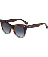 Fendi Ladies ff 0238-s ab8 9o solbriller