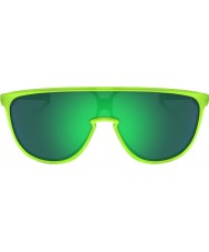 Oakley Oo9318-07 trillbe matte uran - jade iridium solbriller