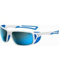 Cebe Proguide skinnende hvid blå 4000 grå mineral blå solbriller