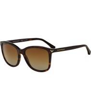 Emporio Armani Ea4060 56 afgørende fritid havana 5026t5 polariseret solbriller