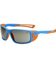 Cebe Proguide mat blå appelsin variochrom peak solbriller