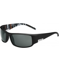 Bolle Kong mat sort appelsin zebra polariseret TNS-solbriller