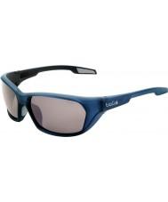 Bolle Aravis mat blå polariseret TNS pistol solbriller
