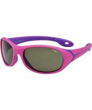 Cebe Simba (alder 5-7) mørk pink solbriller