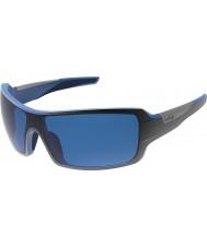 Bolle Diamondback skinnende sort blå polariserede GB-10 solbriller