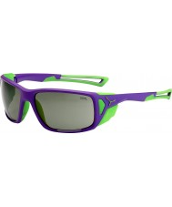 Cebe Proguide lilla grøn variochrom peak solbriller