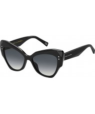 Marc Jacobs Ladies MARC 116-s 807 9o sorte solbriller