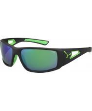 Cebe Session sort grøn 1500 grå spejl grønne solbriller