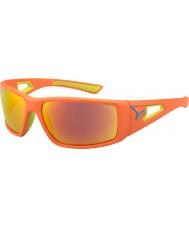 Cebe Session appelsin lime 1500 grå spejl appelsin solbriller