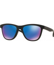 Oakley Oo9320-11 Moonlighter mat sort - safir iridium polariserede solbriller