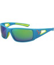 Cebe Session blå appelsin 1500 grå spejl grønne solbriller