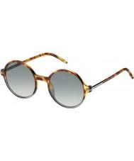 Marc Jacobs Mens marc 48-s TMV vk plettet havana skraverede grå solbriller