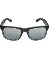 RayBan Rb4165 55 justin gummi grå 852-88 solbriller