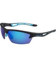 Bolle Bolt matt sort blå solbriller
